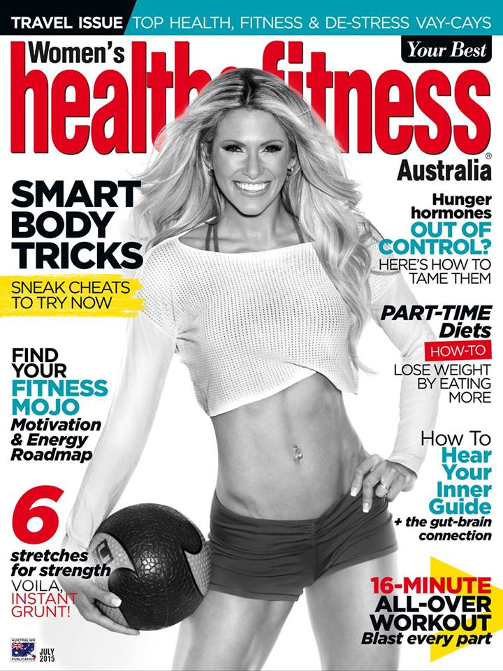 cover womens health and fitness